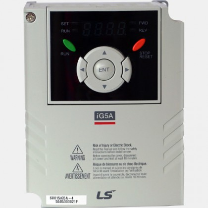 Falownik wektorowy 1,5kW 3-fazowy 400VAC LG SV015iG5A-4