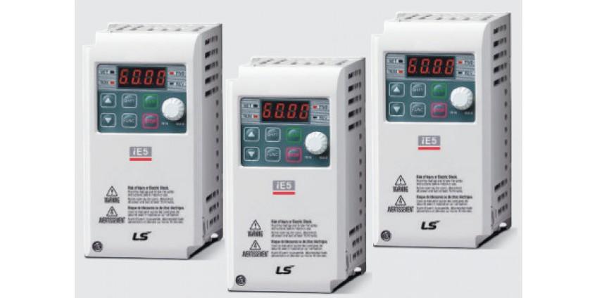 Kompaktowe falowniki LS/LG iE5